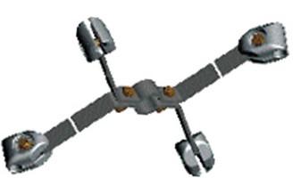 Распорка сцепная 4РС-3-400 (вариант обозначения 4РС3-400)