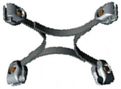 Распорки глухие четырехлучевые 4РГ-6-400 (вариант обозначения 4РГ6-400)