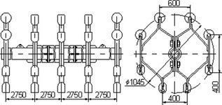 Распорка специальная типа 8РС-3-400А
