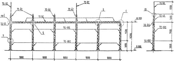 Портал ячейковый ПСЛ-110 Я11С