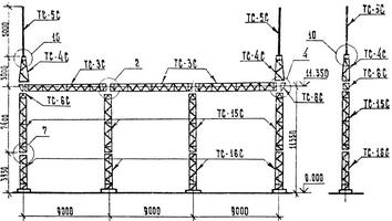 Портал ячейковый ПСЛ-110 Я5С