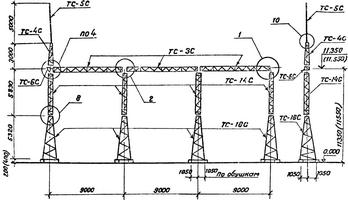 Портал ячейковый ПСТ-110 Я12С