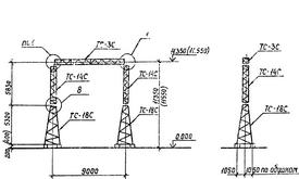 Портал ячейковый ПСТ-110 Я1С