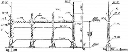 Портал ячейковый ПСТ-110 Я7С